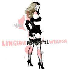 American + Lingerie 100 x 100 cm